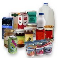 Verpakte Voedingswaren